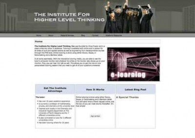 Institute for Higher Level Thinking