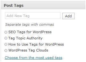 tagging articles, how to use post tags, post tag use, how to create post tag