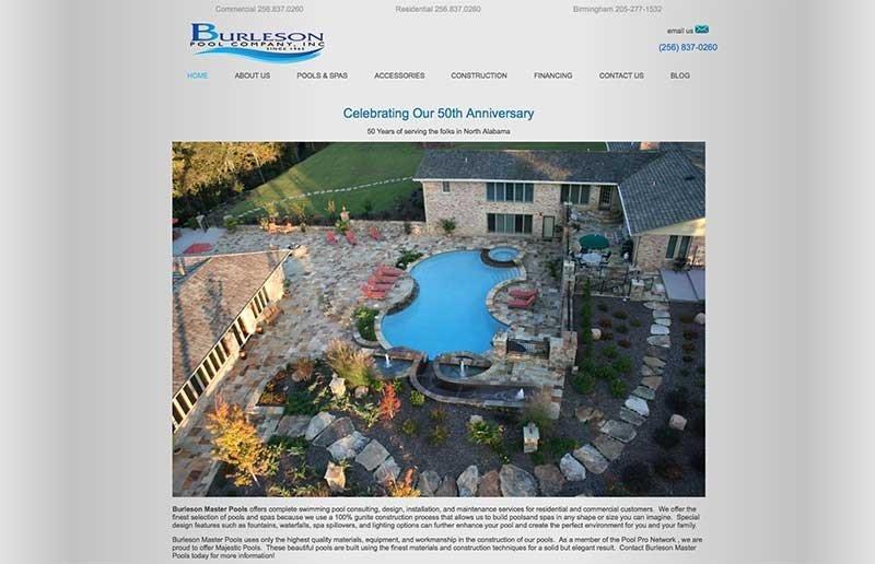 burleson pools
