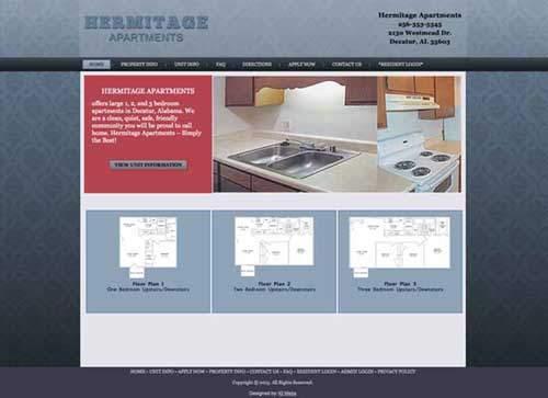 hermitage apartments