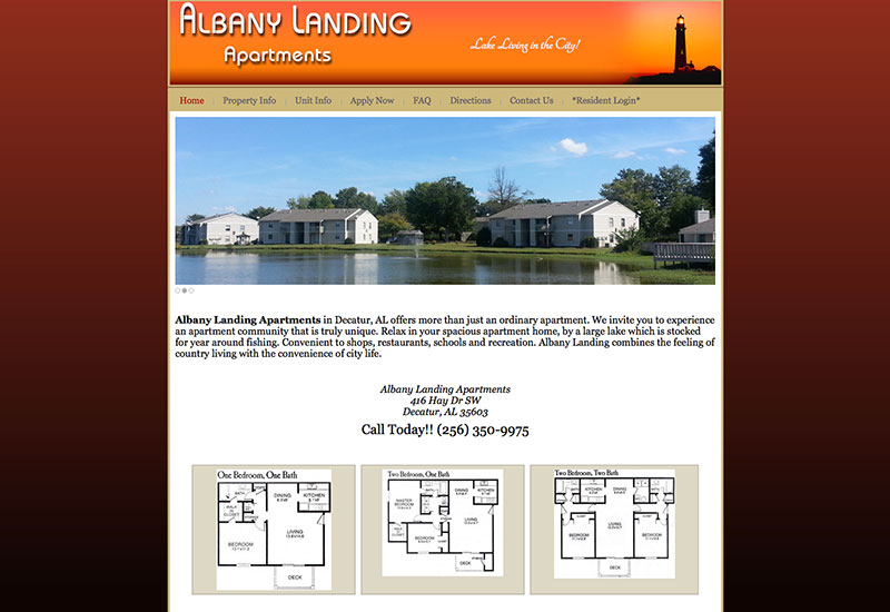 albany landing apartments