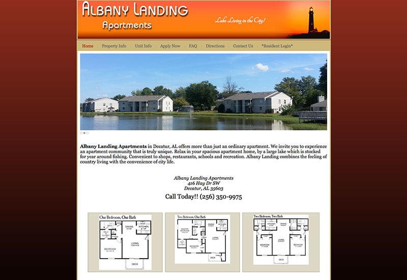 albany landing apts