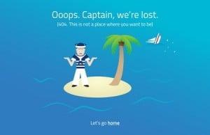 Website lost