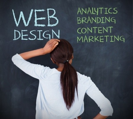 web design and content