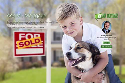 ask mr mortgage landing page image
