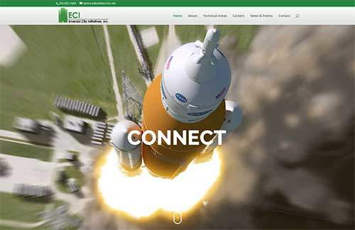 ECi-Inc website image