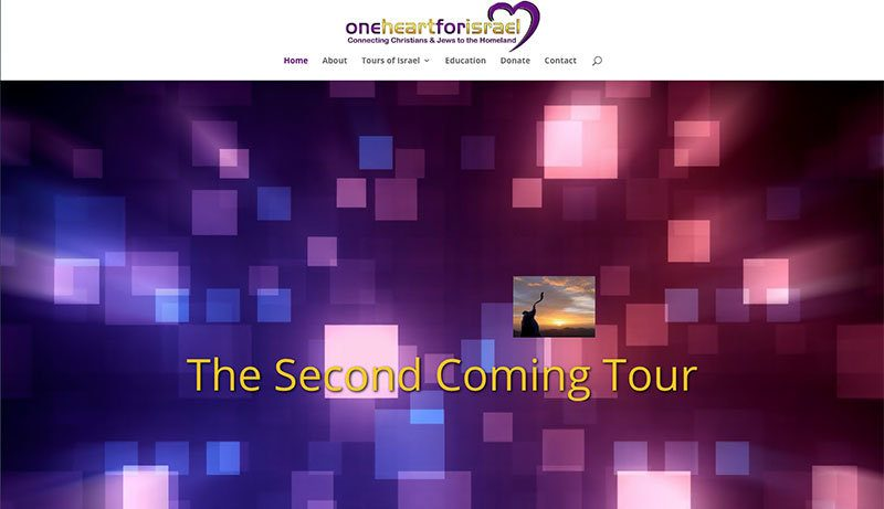one heart for israel website