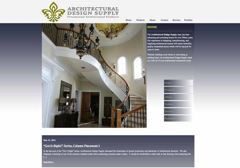 architectural design supply website