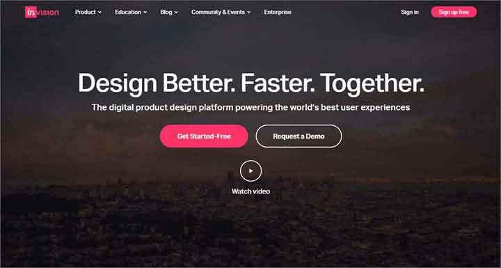 invision website