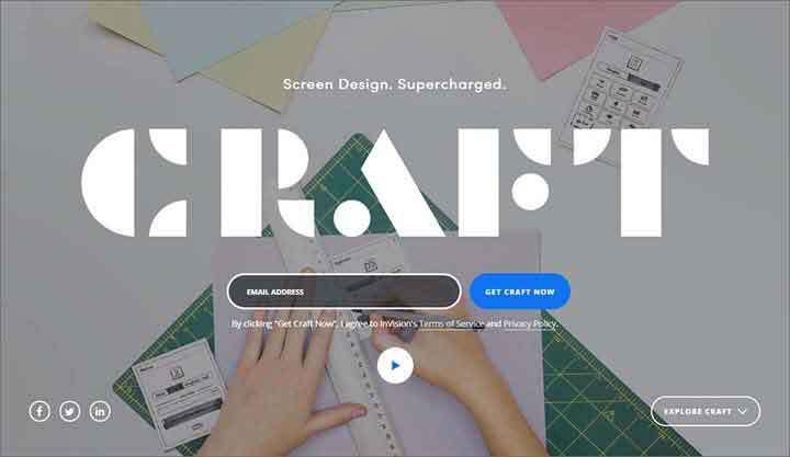 Craft website