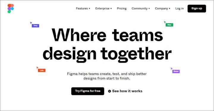 Figma website